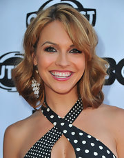 Chrishell Stause rocked a perfectly glam wavy 'do at the Los Angeles Gay & Lesbian Film Festival premiere of 'The Green.'