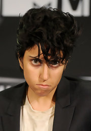 Lady Gaga sported a messy pompadour to channel her male alter ego, Jo Calderone, at the 2011 MTV VMAs.