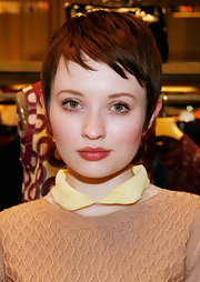 Emily Browning looked summery with her pixie during Miu Miu's celebration of Fashion's Night Out.