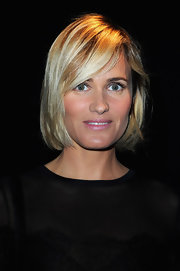 Judith Godreche wore her hair in a classic bob at the Elie Saab Spring 2013 show.