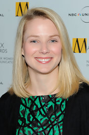 Marissa Mayer stuck to her trademark mid-length bob when she attended the Matrix Awards.
