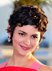 Audrey Tautou styled her hair into a tousled pixie for the Cannes Film Festival Palme d'Or winners photocall.