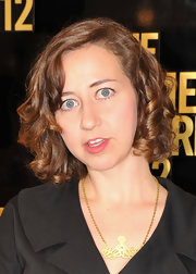 Kristen Schaal wore her hair in short ringlets at the 2012 Comedy Awards.