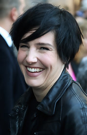 Sharleen Spiteri sported a messy-chic cut at the Rankin Live! private view.