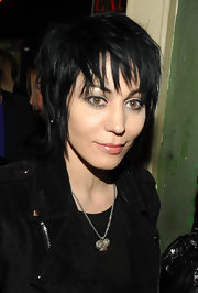 Joan Jett looked super edgy with her razor cut at the after-party for 'The Twilight Saga: New Moon.'