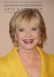 Florence Henderson wore a stylish short 'do at the 2011 Television Academy Honors.
