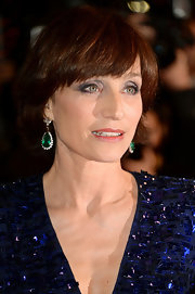 Kristin Scott Thomas attended the Cannes Film Festival premiere of 'Only God Forgives' wearing her hair in a bob.