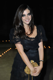 Julia Restoin-Roitfeld attended Le Bal rocking a super-smoky eye.
