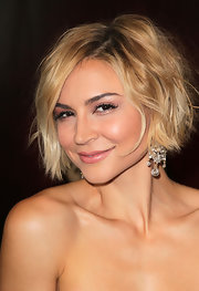 Samaire Armstrong looked fab with her messy-glam bob at the premiere of 'Let Me In.'