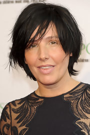 Sharleen Spiteri kept it casual with this messy cut at the Pop Art Ball.