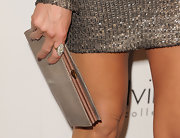 Jennifer Aniston stunned with this Jennifer Fisher diamond ring at the Elle Women in Hollywood Tribute.