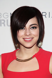 Krysta Rodriguez sported a sleek short scene cut at the BCBG Max Azria Fall 2013 show.