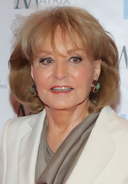 Barbara Walters wore her hair in a teased bob at the 2012 Matrix Awards.