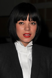 Lily Allen framed her face with a cute bob for the Givenchy Spring 2011 show.