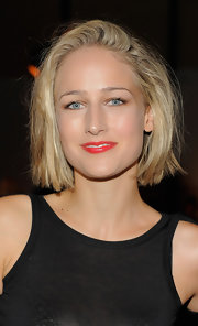 Leelee Sobieski rocked an edgy tousled bob at the Proenza Schouler fashion show.