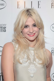 Pixie Lott looked lovely with her face-framing waves at the Elle Women in Music issue event.