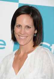 Annabeth Gish sported a sleek bob at the 2011 InStyle Summer Soiree.