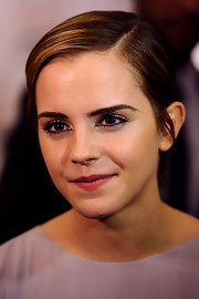 Emma Watson opted for a neat side-parted 'do when she attended the Elle Style Awards.
