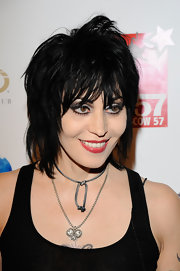 Joan Jett was rocker-chic with her layered razor cut at the 'Night of New York Class' event.