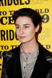 Erin O'Connor went androgynous with this fauxhawk at Selfridges' 100th birthday party.