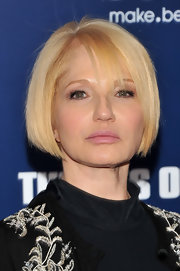 Ellen Barkin showed off a perfect bob at the New York premiere of 'The Ides of March.'