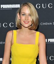 Leelee Sobieski wore her locks in a demure bob during the screening of 'La Dolce Vita.'