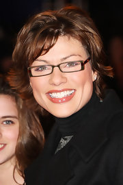 Kate Silverton styled her hair into a flippy razor cut for the 'Twilight Saga: New Moon' fan event.