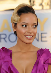 Selita Ebanks kept it fun with this short haircut with a wavy top at the premiere of 'Larry Crowne.'