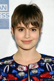 Sami Gayle looked youthful and cute wearing her hair in a pixie at the 'English Teacher' premiere.