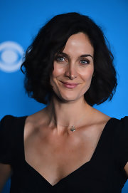 Carrie-Anne Moss looked pretty wearing this curled-out bob at the CBS 2012 fall premiere party.