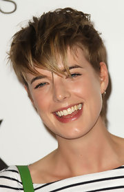 Agyness Deyn went super edgy with this messy cut at the Lexington Social House launch.