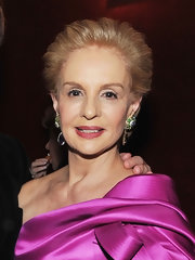 Carolina Herrera wore a brushed-back hairstyle at the 2011 American Ballet Theatre Spring Gala.