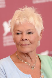 Judi Dench rocked a messy pixie at the Venice Film Festival photocall for 'Philomena.'