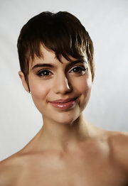 Sami Gayle looked cool, as always, with her pixie at the Variety Studio in Cannes.