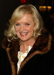 Christine Ebersole looked lovely with her short wavy cut at the Broadway opening of 'Liza's at the Palace.'