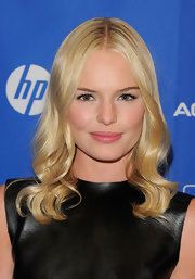 Kate Bosworth looked like a doll with her flawlessly sculpted blond waves at the premiere of 'Another Happy Day.'