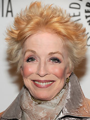 Holland Taylor looked oh-so-cool with her spiked hair at PaleyFest 2012.