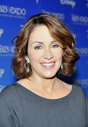 Patricia Heaton looked lovely with her wavy bob at the D23 Expo.