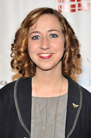 Kristen Schaal channeled Shirley Temple with this short curly 'do at the 2011 Writers Guild Awards.