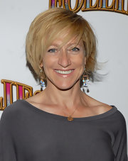 Edie Falco rocked a choppy bob at the Broadway opening of 'Follies.'