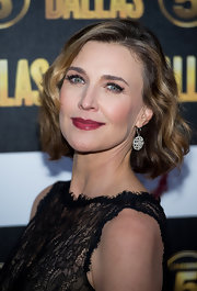 Brenda Strong looked lovely with her wavy bob at the 'Dallas' launch party.