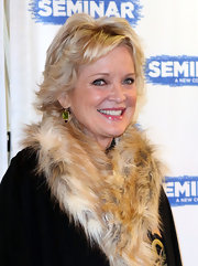 Christine Ebersole wore her hair in a layered razor cut at the Broadway opening of 'Seminar.'
