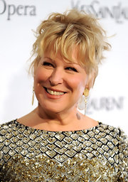 Bette Midler was a rockstar with her messy cut at the Metropolitan Opera gala premiere of 'Armida.'