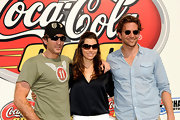 Jessica Biel attended the Coca-Cola 600 event looking stylish in a pair of rectangular shades.