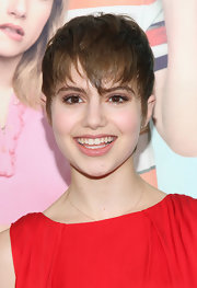 Sami Gayle rocked emo bangs at the premiere of 'We're the Millers.'