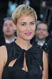 Judith Godreche looked charming with her pixie cut at the Cannes Film Festival premiere of 'The Artist.'