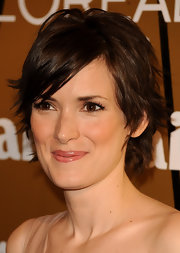 Winona Ryder looked oh-so-cute with her layered razor cut at the 2008 Marie Claire Prix de la Mode.