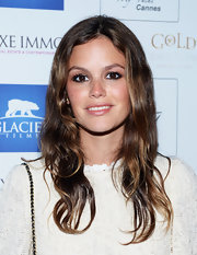 Rachel Bilson sported a casual wavy hairstyle at the Glacier Films launch party.