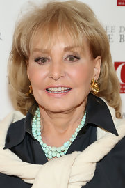 Barbara Walters sported a bob with wispy bangs at the advance screening of 'The Butler.'