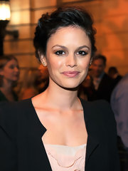 Rachel Bilson went for classic glamour with this loose updo during the CW launch party.